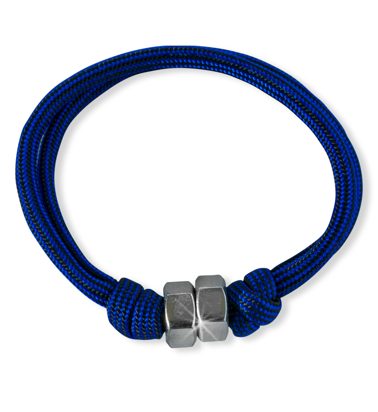 Royal Blue Paracord Bracelet