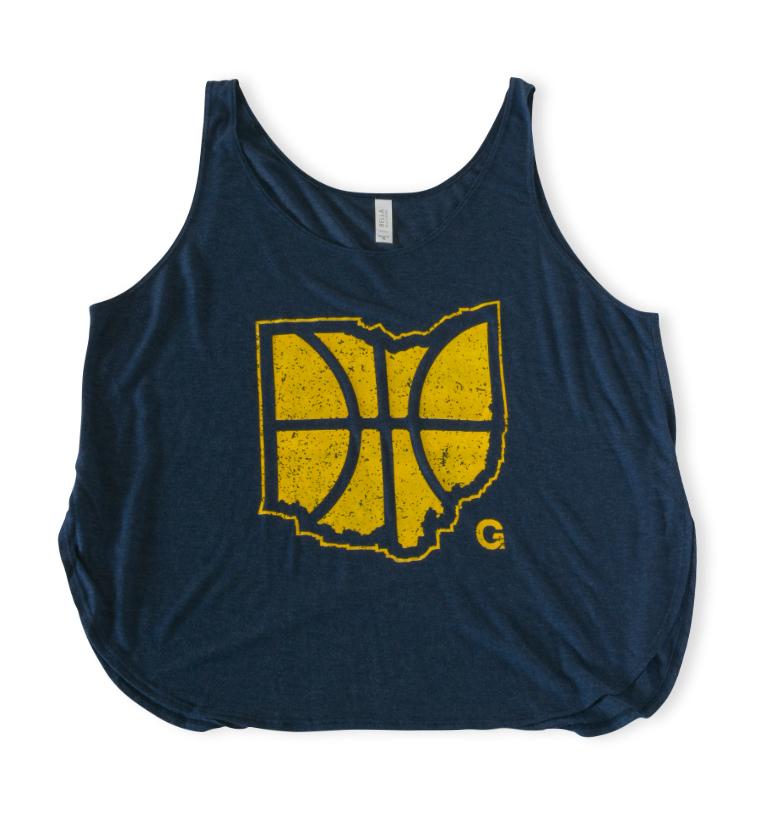 Basketball Tank: Women's Navy